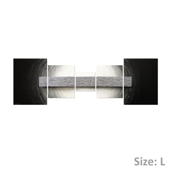 Silberbarren X 210 Cm Wandbild 100Handgemalt70 yvOmN8nw0