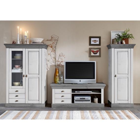 wohnwand bergen 3 teilig home24. Black Bedroom Furniture Sets. Home Design Ideas