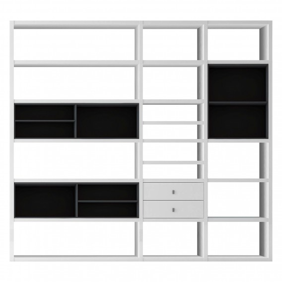 loftscape b cherregal f r ein modernes zuhause home24. Black Bedroom Furniture Sets. Home Design Ideas