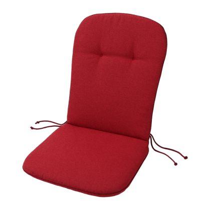 Coussins pour fauteuil de jardin dossier bas