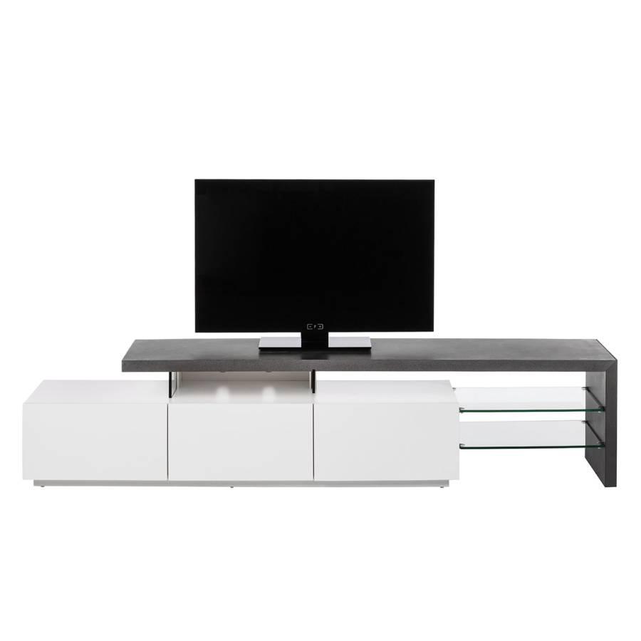 Tv Ii Dekor WeißBeton lowboard Molios QrthoCsdxB