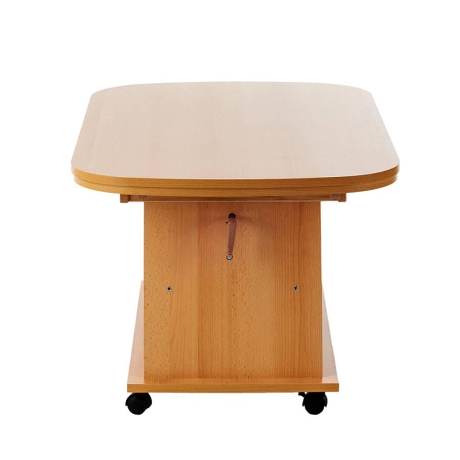 Hauteur Bergen Avec Réglable Imitation Table Hêtre Basse RallongeÀ UzSpMVq