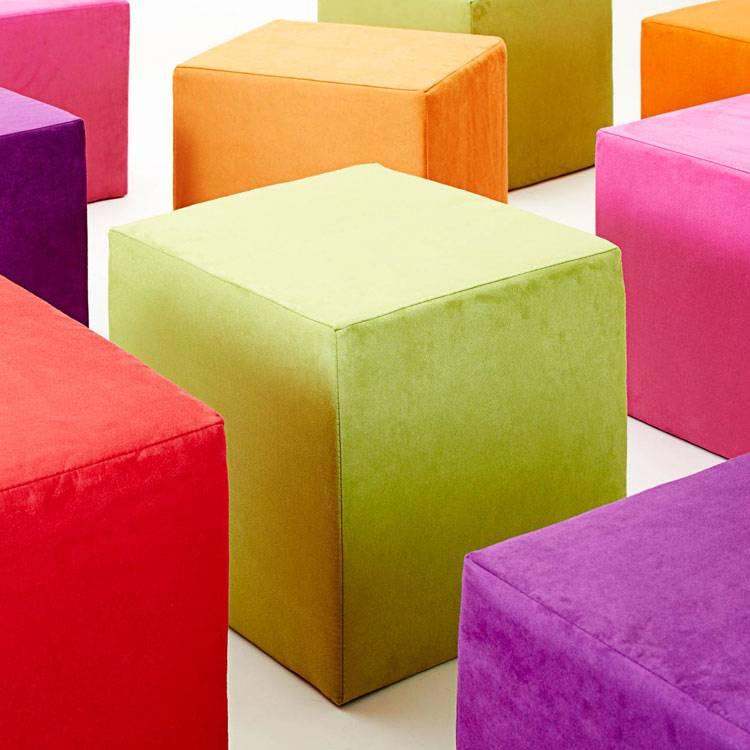 Sitzwürfel Fredrik Sitzwürfel Fredrik Stoff Grün Stoff vmN08wnyO