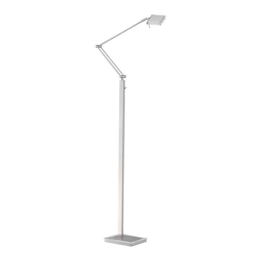 Liebenswert Stehleuchte Silber Ideen Von Led-stehleuchte Futura - Stahl -