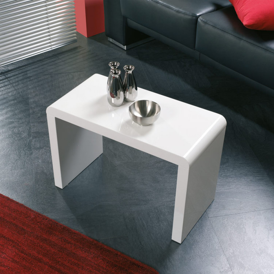 BlancGrand Format D'appoint Table Paul nwmv8y0ON