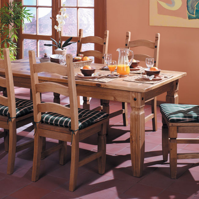 À Table MassifVieilli Pin Manger Zacateca lOkuwPTiXZ