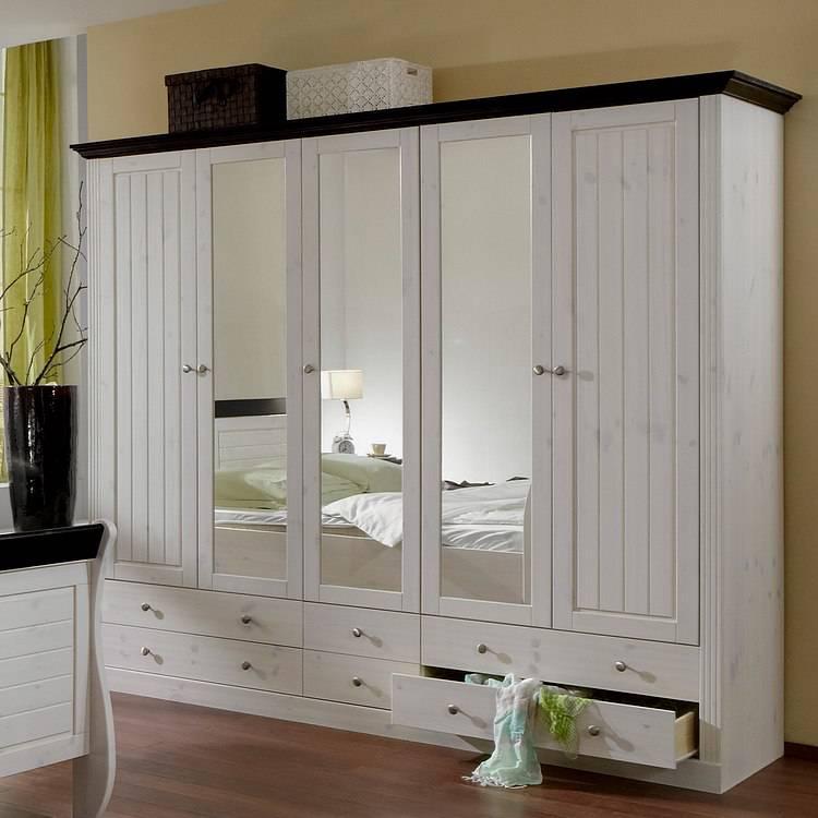Lyngby Schlafzimmer Set (4-teilig) - Kiefer massiv | home24