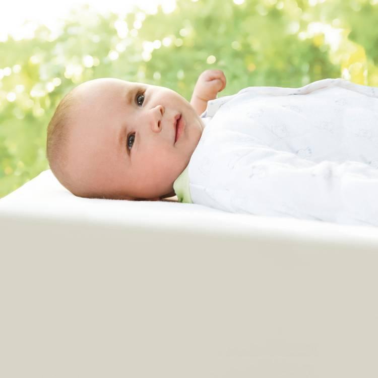 Weiß Babybettgarnitur Daunen Babybettgarnitur Decke100Baumwolle Kopfkissenamp; dxBQroWECe