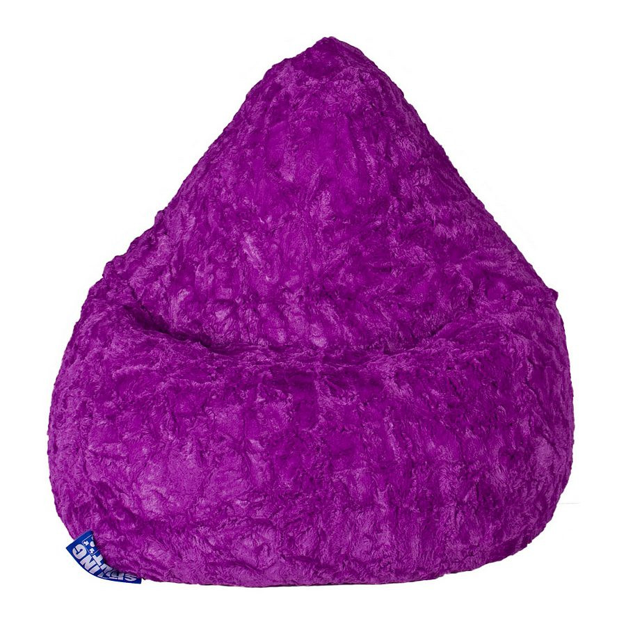 Violett Sitzsack L Fluffy Fluffy Sitzsack vwm8O0Nn