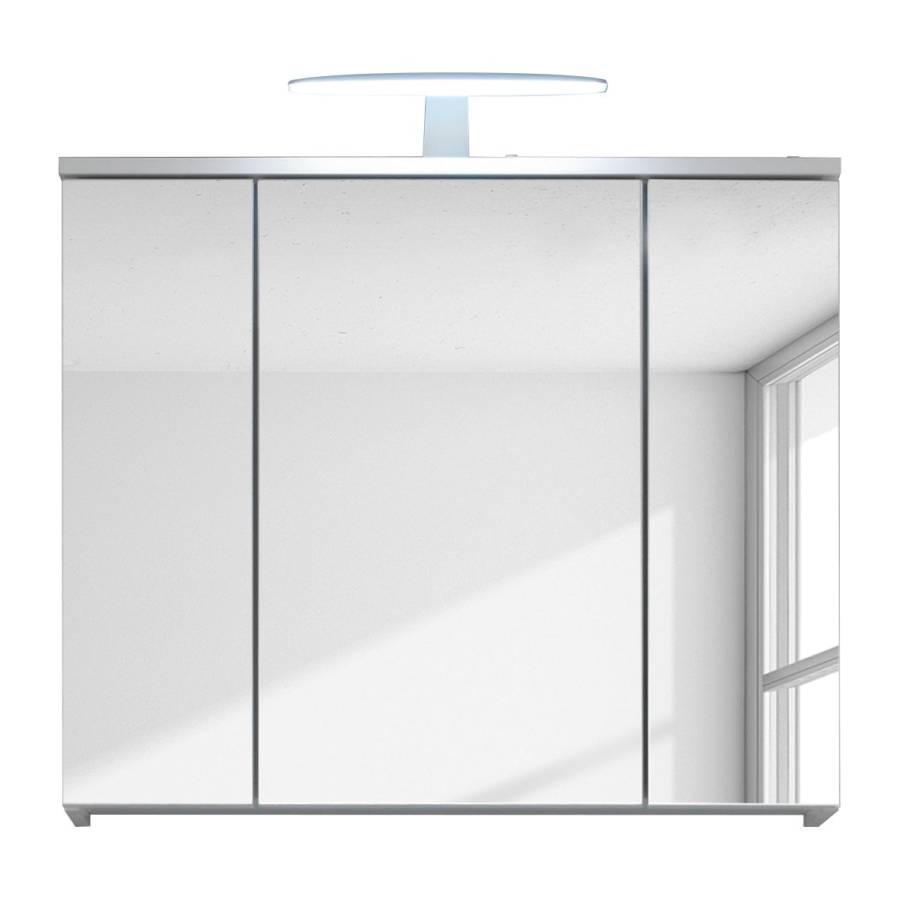 eclairage miroir Armoire à miroir Larado (avec éclairage) - Blanc