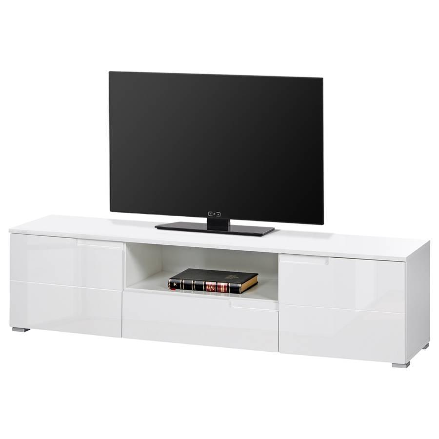 Tv Lowboard Larado Hochglanz Weiss Weiss Home24