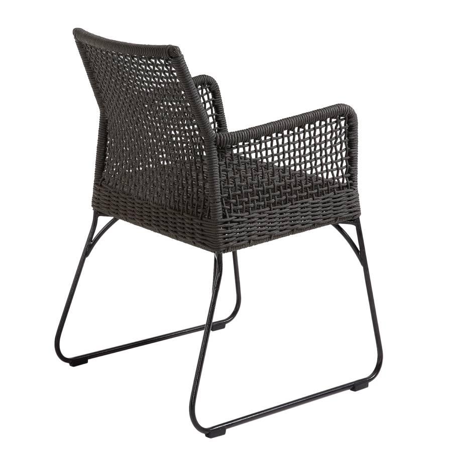 Jardin Novak AcierMatière Chaise De PlastiqueGris VqpLSMUzG