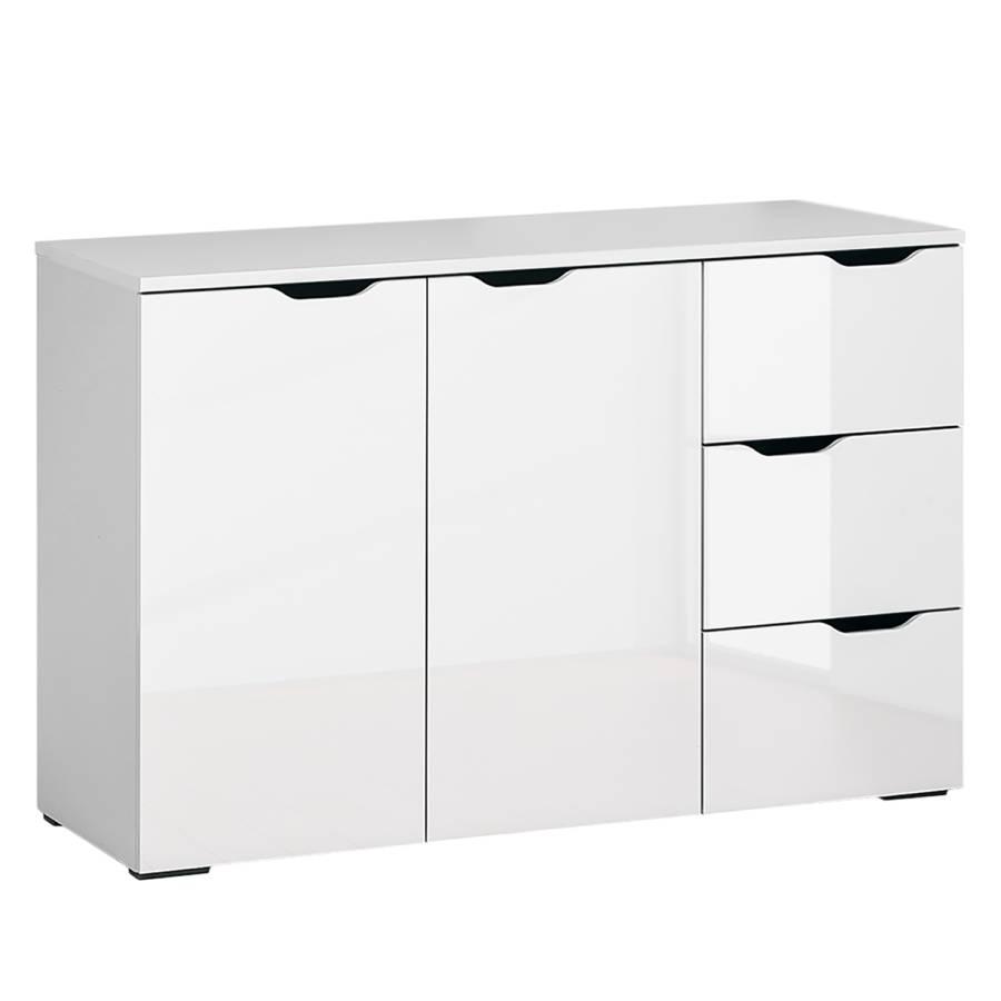 Weiß Basil Hochglanz Sideboard I Arktis 8OPNk0Xnw