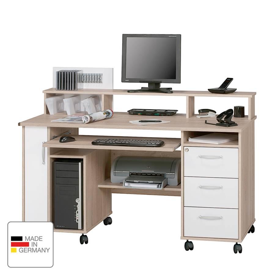 Sonoma Computertisch Loel DekorAlpinweiß Eiche Computertisch stdhQCrx