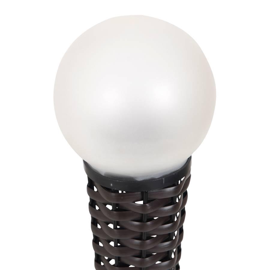 Led flammig solar AcrylglasKunststoffWeiß 1 Braun erdspieß A3L45jqR