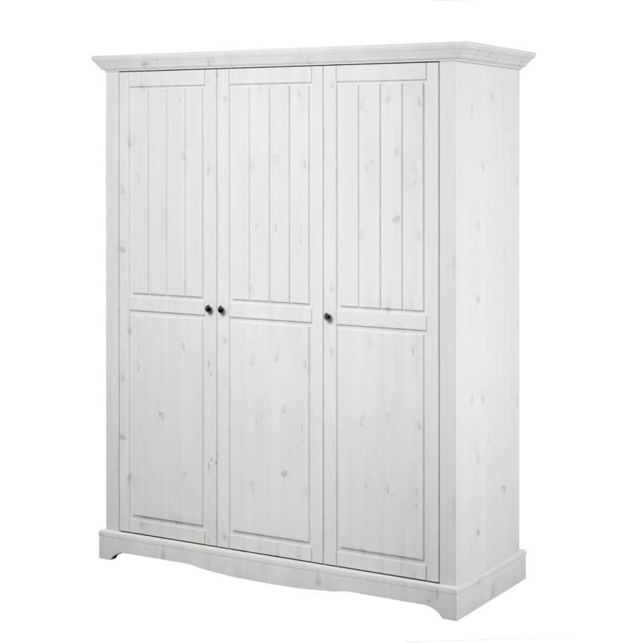 White Wash Hangkast.Steens Draaideurkast Voor Een Rustiek Huis Home24 Be