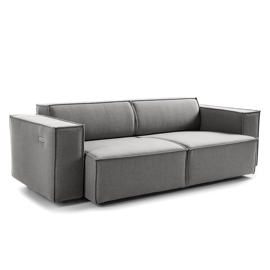 Sofa MilanHellgrauSitztiefenverstellung 5 Kinx2 sitzerWebstoff Stoff jVpGSzMLqU