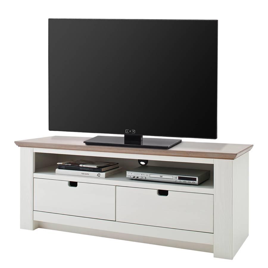 Maquili Tv schrank schrank Maquili Kiefer Kiefer Tv TeilmassivWeißTaupe TeilmassivWeißTaupe FKJl1cT