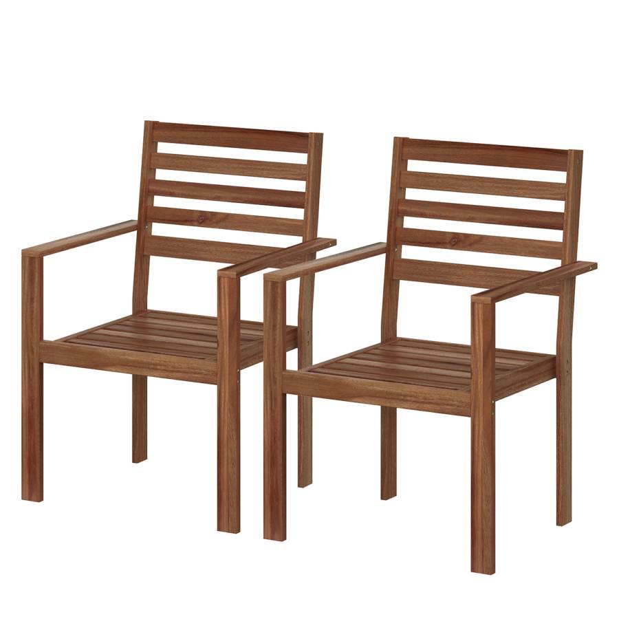Chaises de jardin Mimo I (lot de 2)