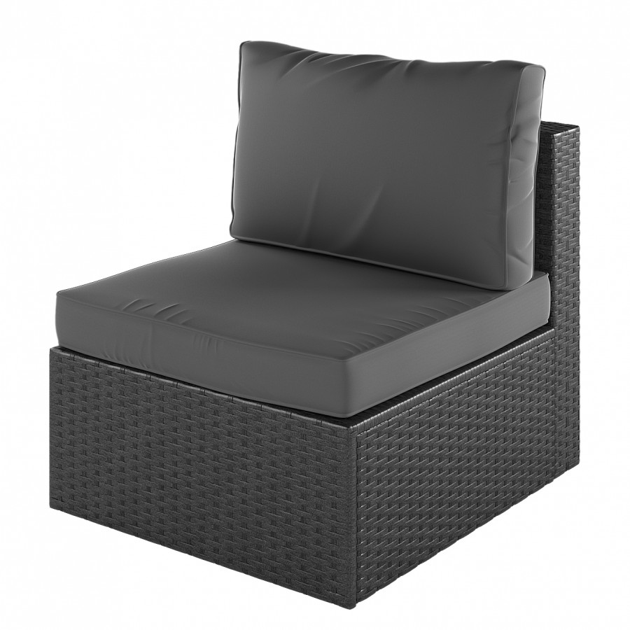 Fauteuil Fauteuil Paradise Paradise TissuPolyrotinGris Anthracite Anthracite Lounge Lounge TissuPolyrotinGris sCxtdQhrB