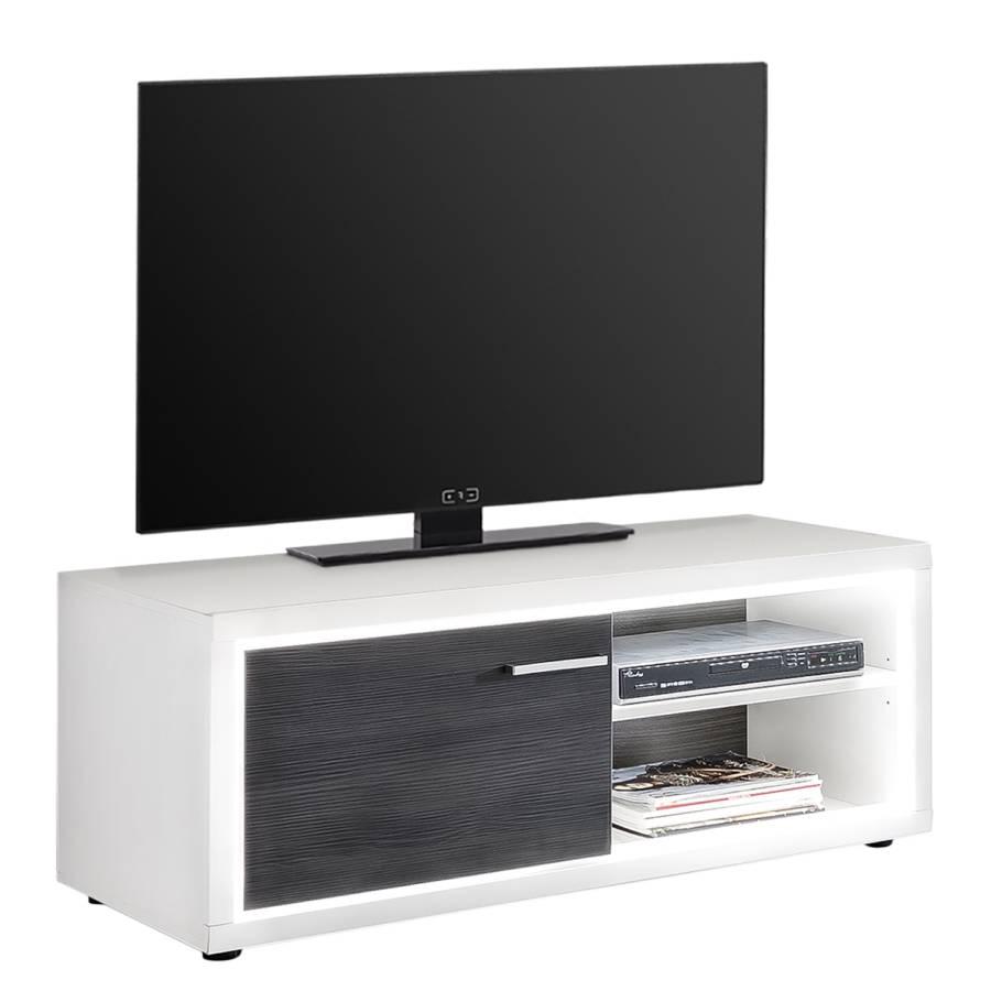Tv lowboard Anthrazit Piorini DekorWeiß Kiefer I Yfb6vIy7g