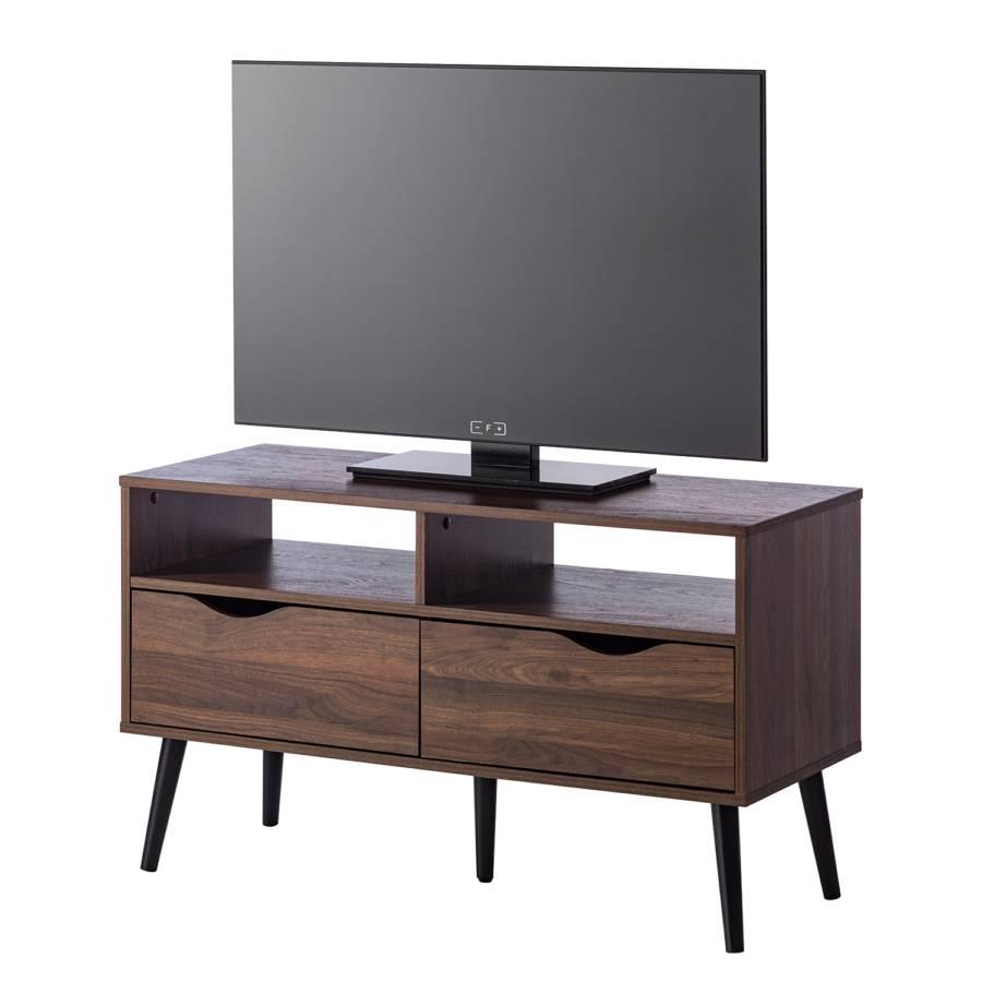 Meuble Tv Gjora Ii Partiellement En Hevea Massif Home24 Ch
