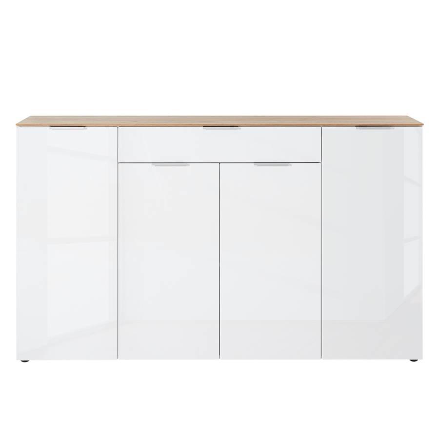 Hochglanz Sideboard Cetano Dekor179 Cm Navarra WeißEiche shdoBxtQrC