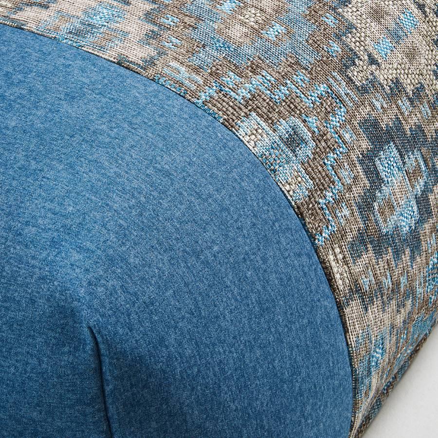 Nazca Blau Kissenbezug FlachgewebeVintage I FlachgewebeVintage Blau Kissenbezug Nazca Nazca I Kissenbezug DH29EI