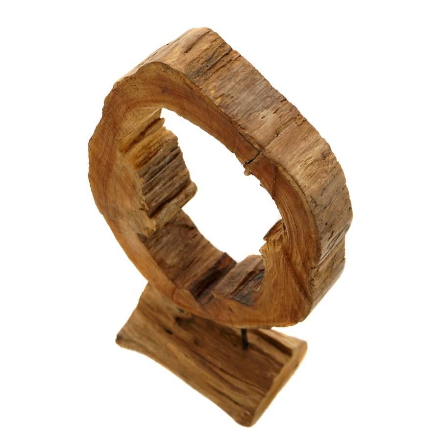 Dekofigur Massiv Teakholz Dekofigur Ring Massiv Massiv Dekofigur Ring Ring Teakholz Teakholz FJKl1c