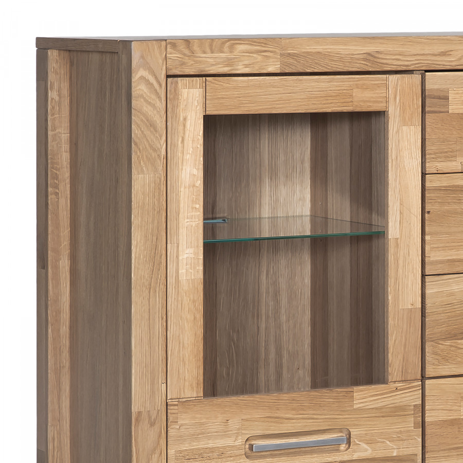 Highboard Ii Highboard Majona Teilmassiv Wildeiche mNyv80Onw