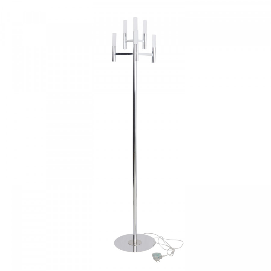 Lampadaire DépoliAcier Inoxydable6 Ampoules Candle Verre mNv08nw