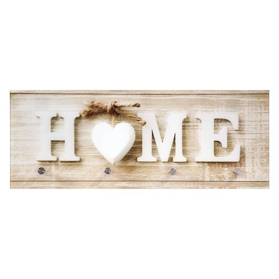 Glasgarderobe Home Glas Metall Home24