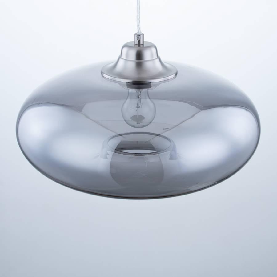 Ii Minéral SécuritéFer1 Ampoule De Lawrence Suspension Gris Verre shrQtCd