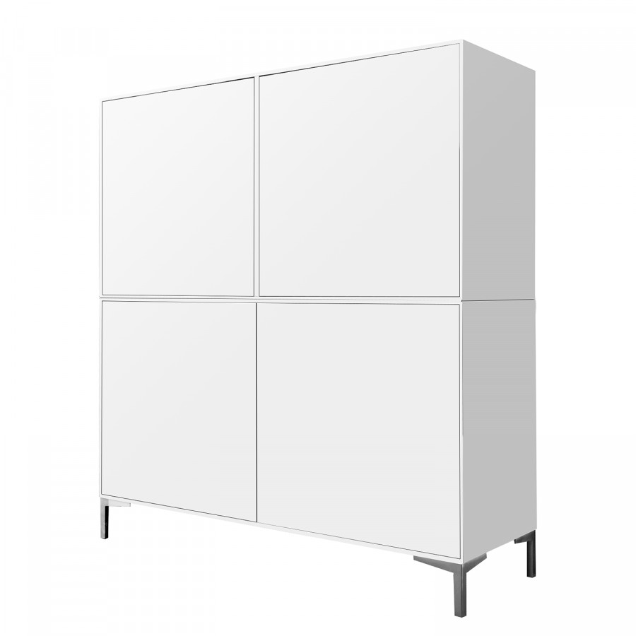 Highboard Hulsta Now Easy Lack Reinweiss Fashion For Home