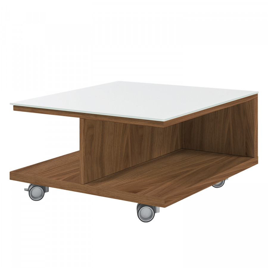 Table Noyer Now Hülsta De Basse Iii VerreBlancCœur CxBtdshrQ