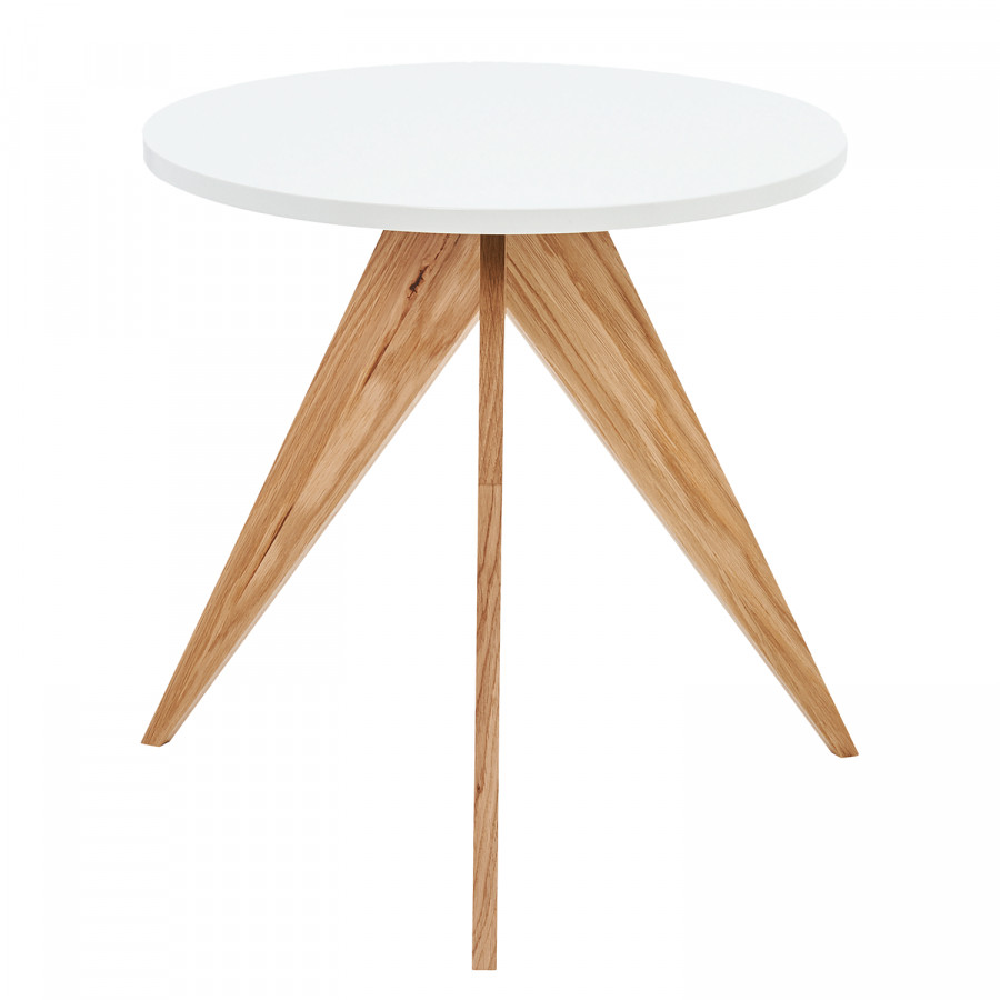 Table MassifBlanc Hülsta Laqué Chêne D'appoint Partiellement En Now Iv ulTFK135Jc