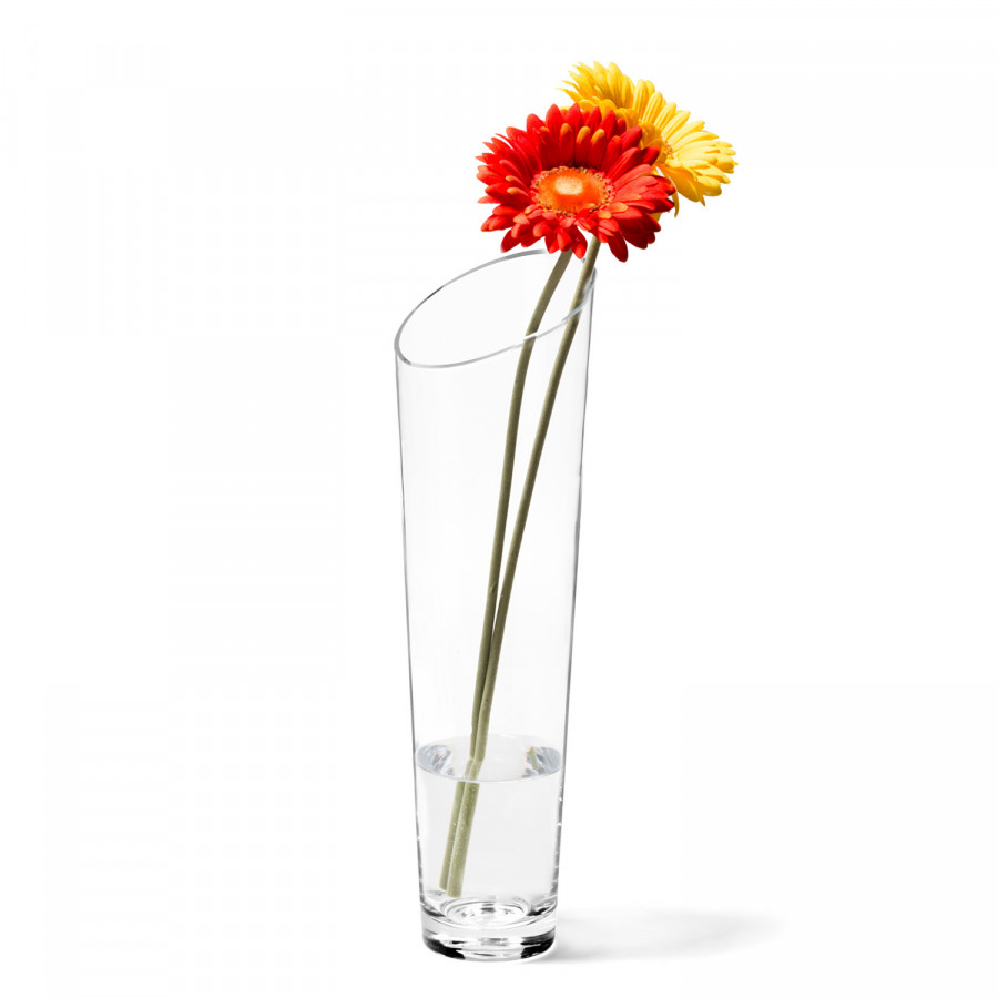 Dynamic Vase 40 GlasTransparent 40 Vase Vase Dynamic Dynamic GlasTransparent 40 GlasTransparent HY29WIED