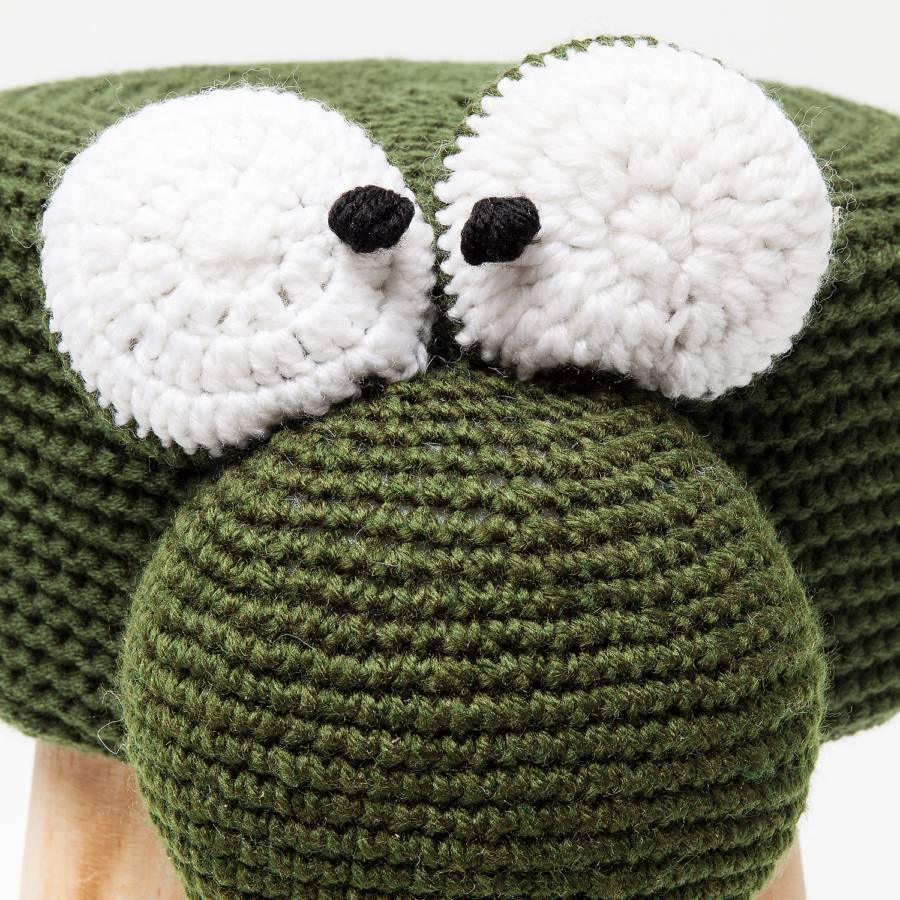 Hocker Hocker Funny Frog StrickstoffKiefer Funny Frog Hocker MassivGrün StrickstoffKiefer MassivGrün kZPXiu