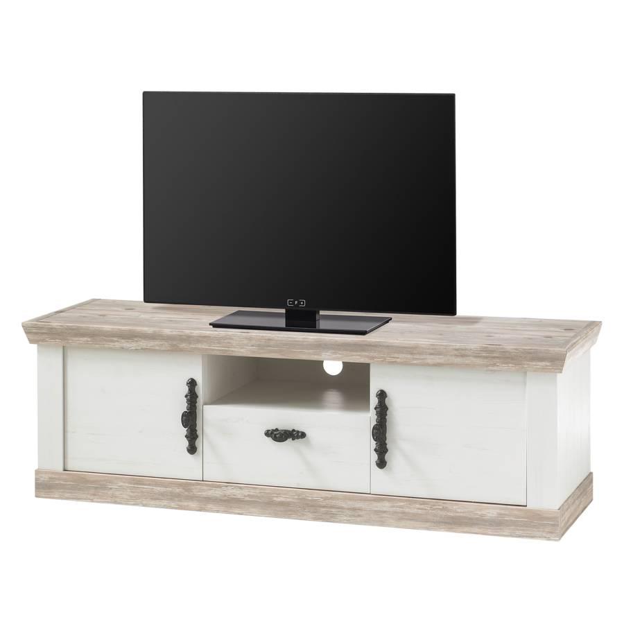 Ii Dekor Weiß Lewk Pinie Tv lowboard 8ynOwmNPv0