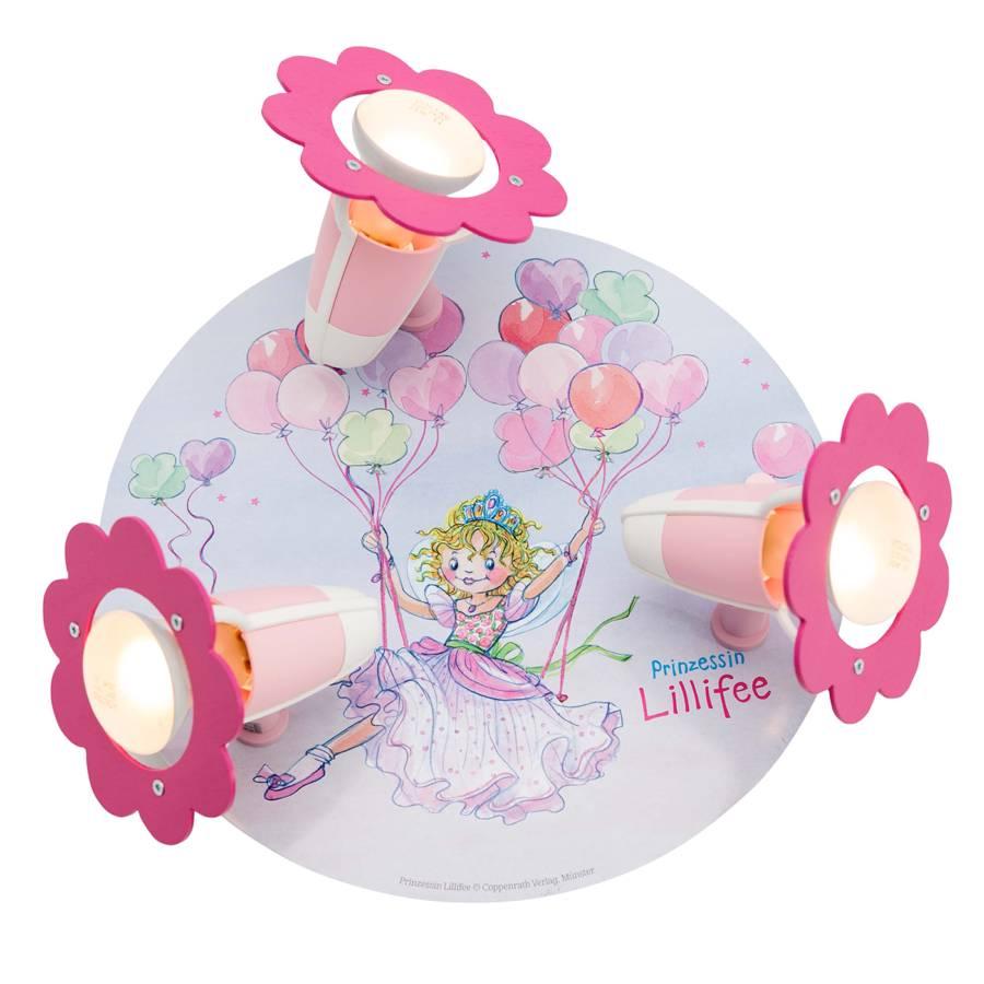 I Bouleau Massif3 Spots Lillifee Plafonnier Princesse SqzMVpU