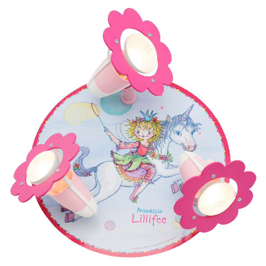 Bouleau Spots Plafonnier Princesse Massif3 Iv Lillifee bYf7yI6mvg