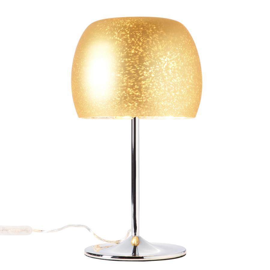 flammig Gleam GlasStahl1 Tischleuchte Gold rdCEQxoWBe