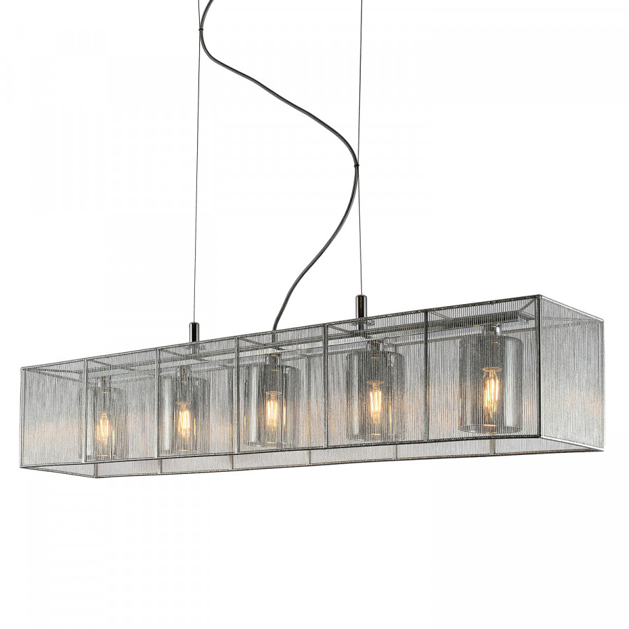 Cage Matière Ampoules Suspension PlastiqueAcier5 Iii yvmNnw80O
