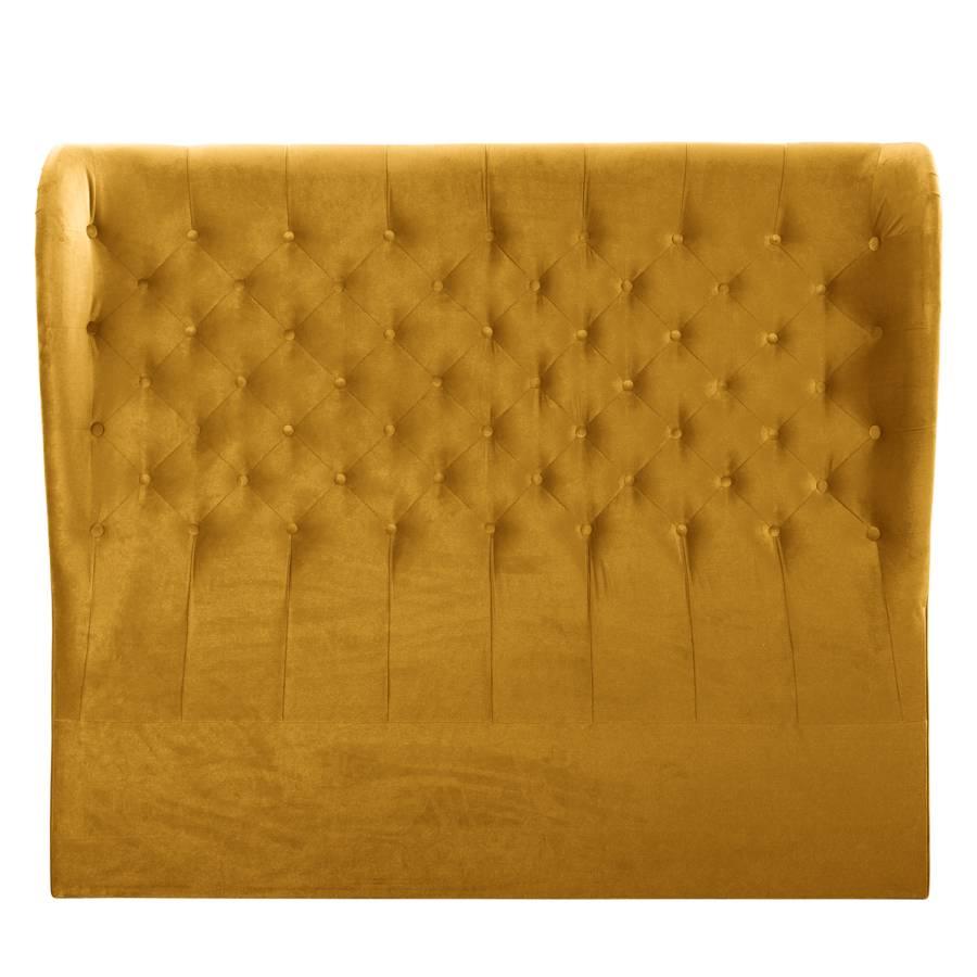 Monroe Tête Tissu155 Cm De Lit Ocre eQBorCxdW