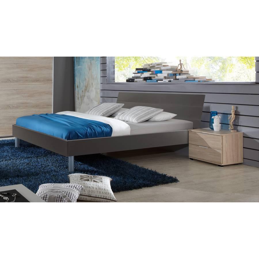 Easy X Bettgestell Beds 200cm Graphit140 QxCdshBotr