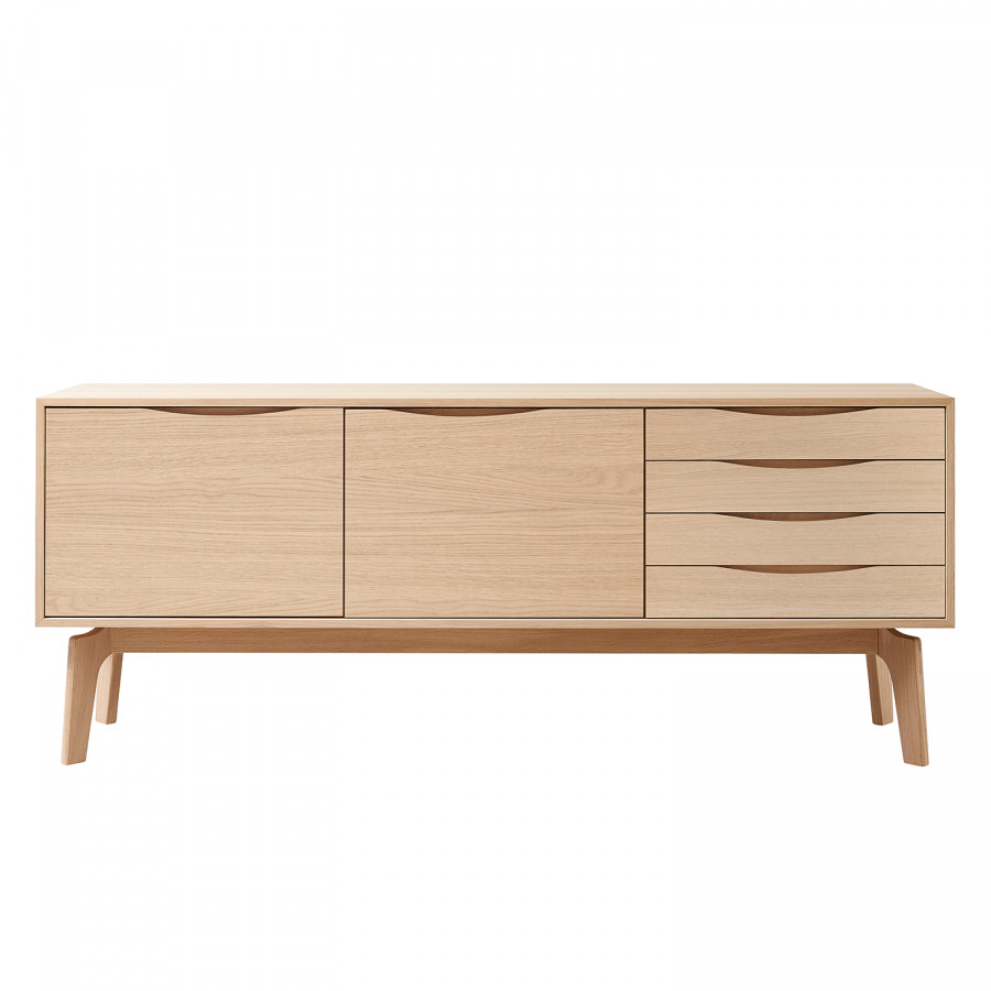 Nysted Eiche Hell Sideboard I IYfvgy76b