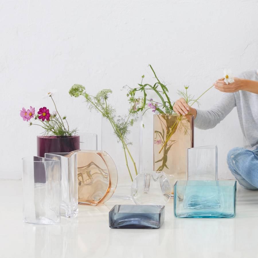 Centro I Pastel CristallinCouleur Abricot Verre Vase tCxsdhQr