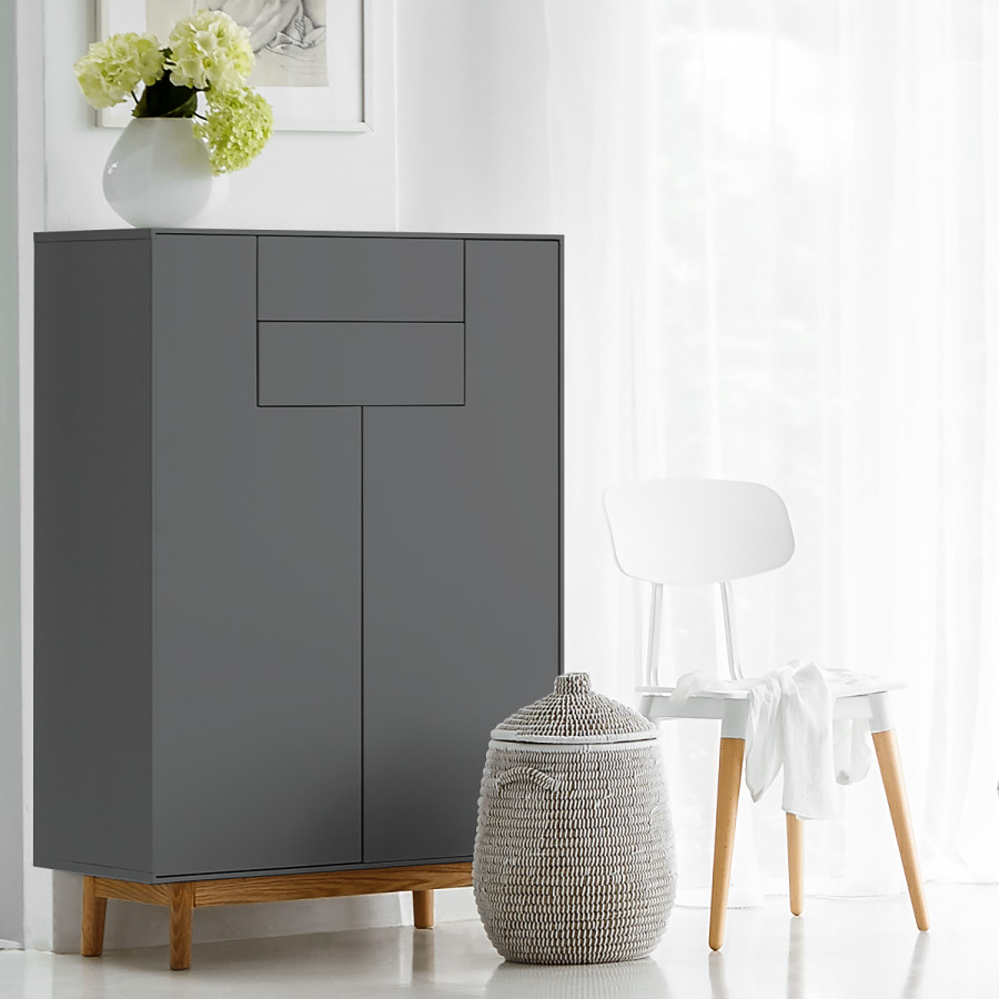 Lindholm Grau I Lindholm I Highboard Grau Highboard jL34A5R