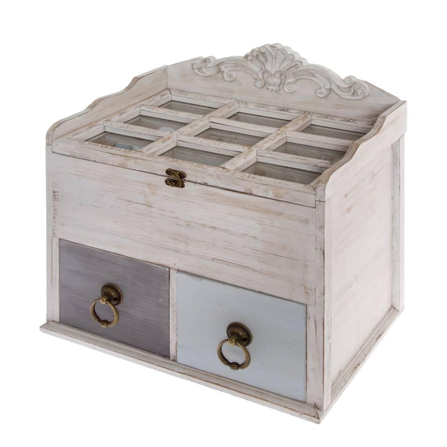 Witte Houten Box.Houten Box Mikene
