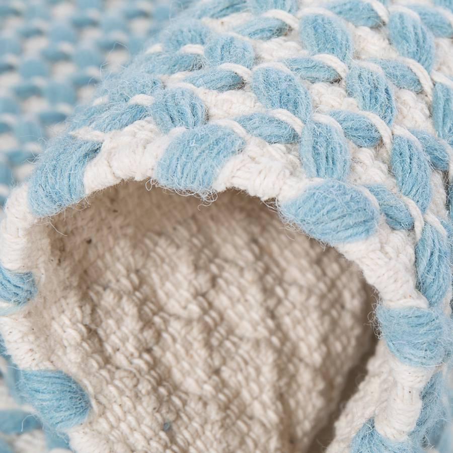BaumwolleWolle200 290 X Teppich Cm Pastellblau Skive qLSjpGMzVU